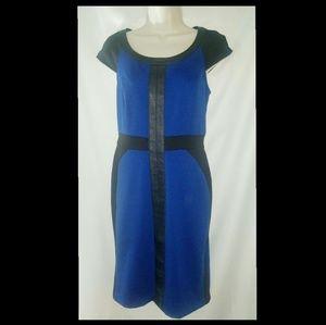 Beige by Eci Color Block Sheath Dress